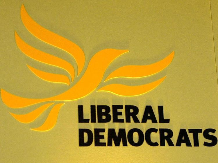 Undated file photo of the logo for the Liberal Democrats. The political party broke privacy rules by using automated phone calls to voters and have been ordered to stop using them or face prosecution, the Information Commissioner's Office said today.