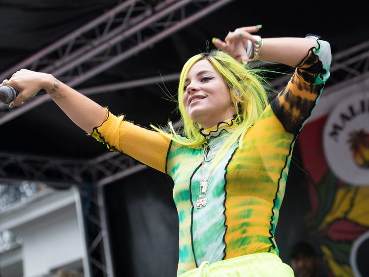 Lily Allen: Music industry is