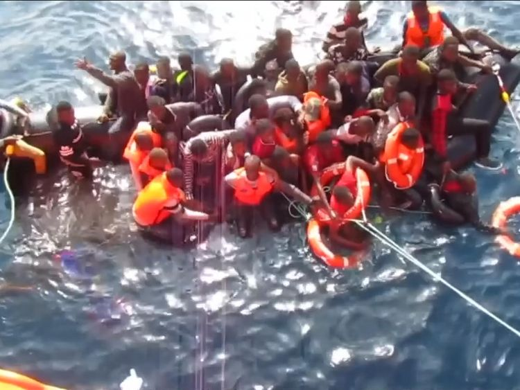 170 migrants feared dead in Mediterranean sinkings