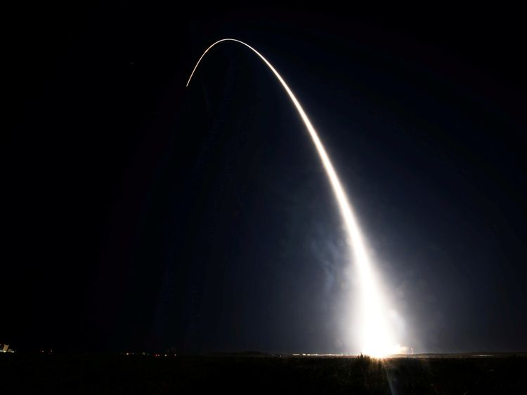 A Delta II rocket carries the ICESat-2 into orbit. Pic NASA  Bill Ingalls