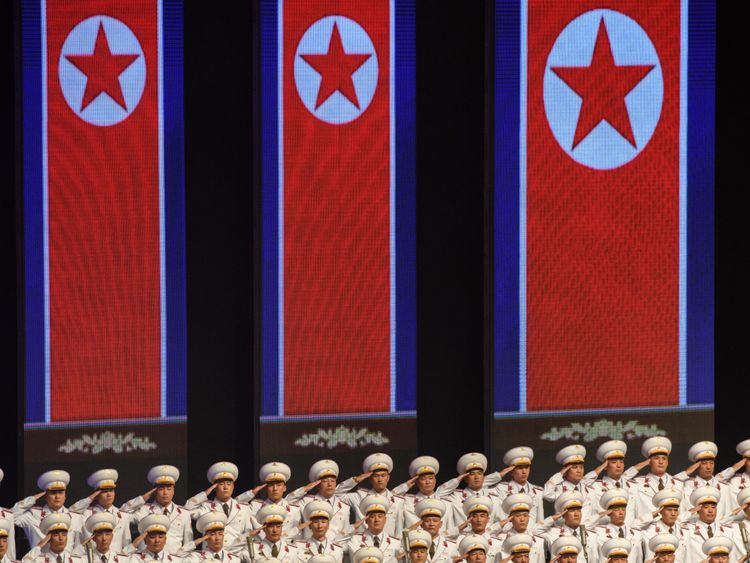 North Korea uses 70th anniversary to push economy, not nukes