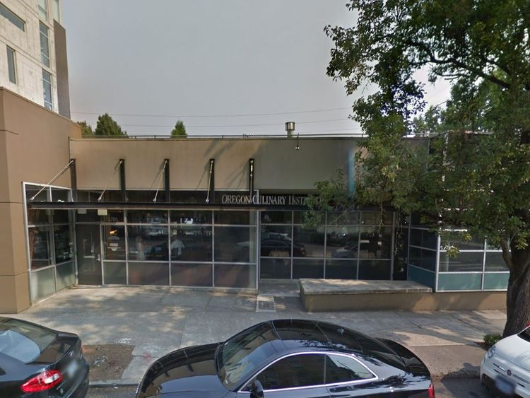 Students reportedly found Mr Brophy bleeding in the kitchen. Pic: Google Street View