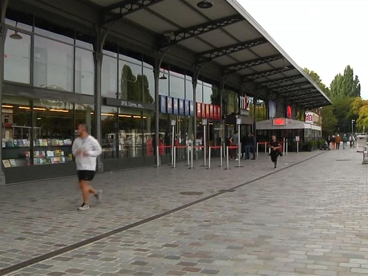 The canal area is often busy and has several cinemas