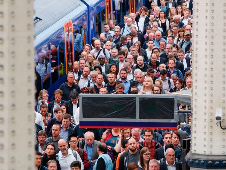 The schedule of chaos in the summer broke misery to tens of thousands of commuters