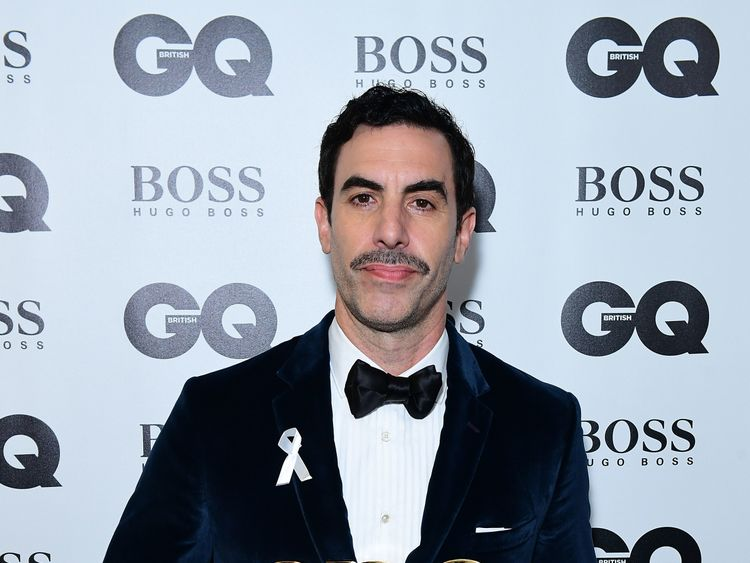 Cohen was in London to accept a GQ prize on Wednesday