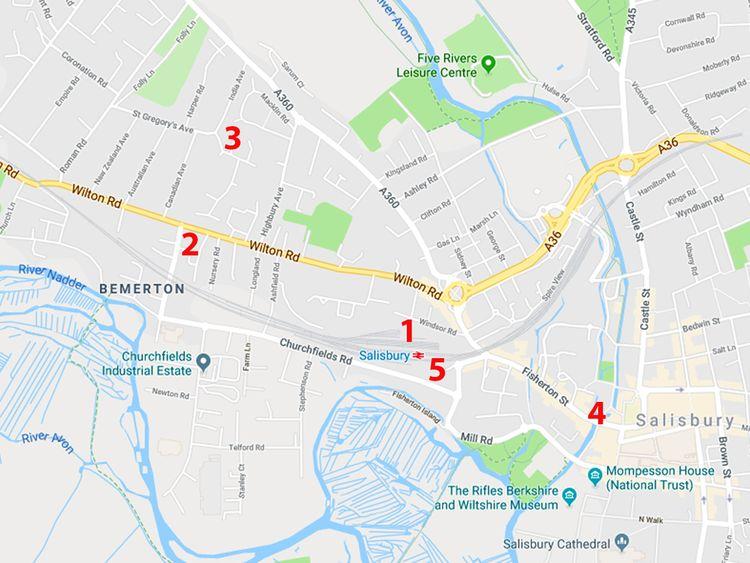 Salisbury. Pic: Google Maps