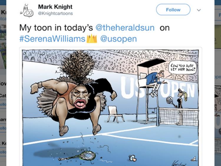 Cartoon criticised as 'racist' by Australian Mark Knight