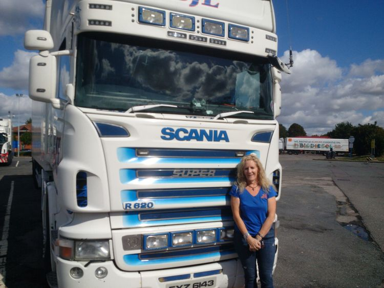 Lorry driver Sherralin Ballard was left stunned when 12 Iraqi migrants were discovered hidden in her trailer