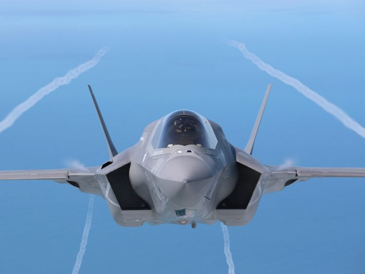 A F-35B aircraft has crashed in South Carolina