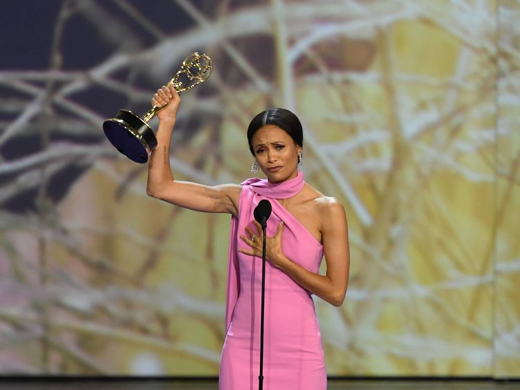 Thandie Newton's Excitement At Winning Her First Emmy Was Too Much