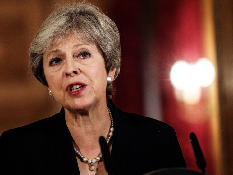 Theresa May makes a statement on Brexit negotiations