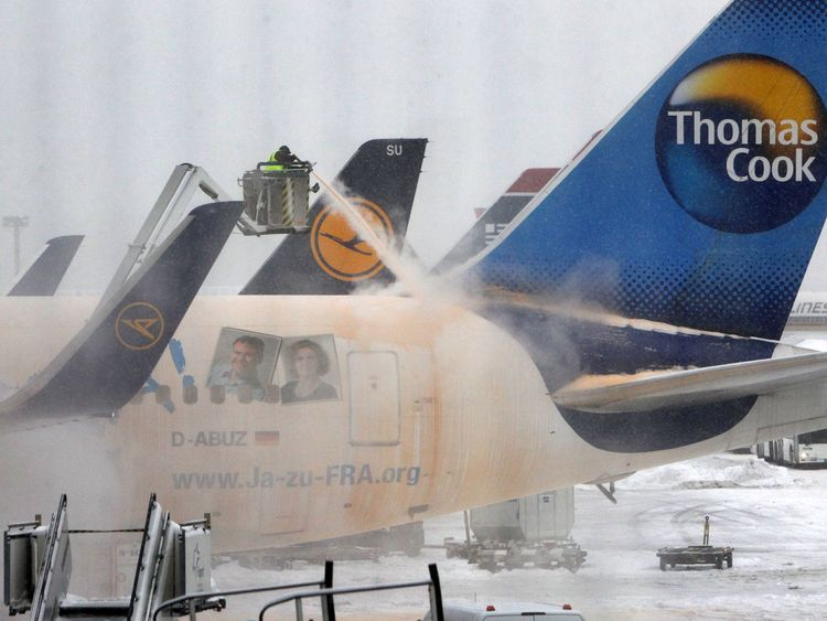 Thomas Cook flight delays increased from 1.1 to 1.8%
