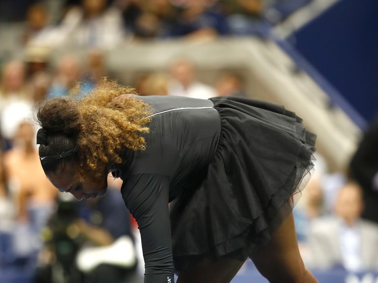 on Day Thirteen of the 2018 US Open at the USTA Billie Jean King National Tennis Center on September 8, 2018 in the Flushing neighborhood of the Queens borough of New York City.