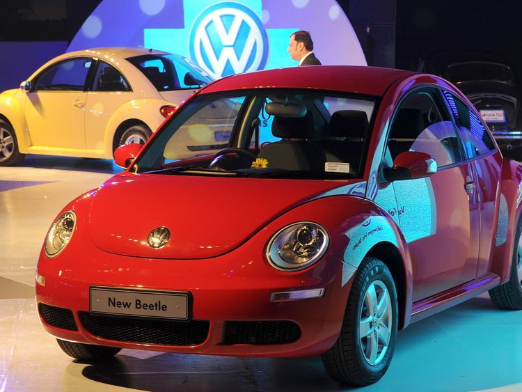 Volkswagen to kill the Beetle in 2019 as car sales plunge