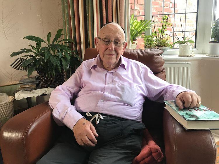 Werner Lachs, 91, has described Foley an 'angel'