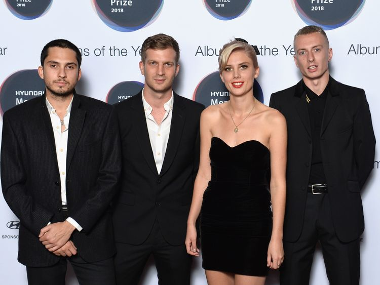 (FOR EDITORIAL USE IN THE CONTEXT OF THE 2018 HYUNDAI MERCURY PRIZE ONLY)  attends the Hyundai Mercury Prize 2018 at Eventim Apollo on September 20, 2018 in London, England.