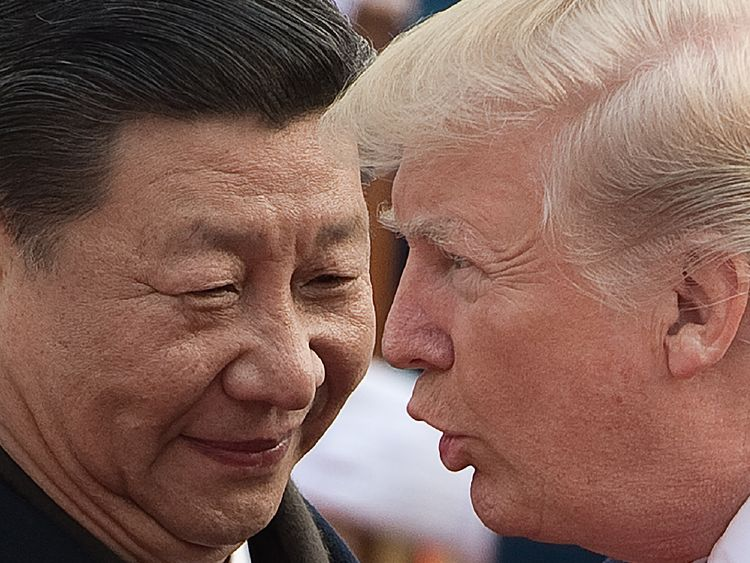 China reacts to trade war as effects start to be felt