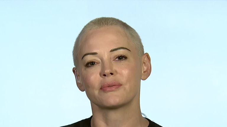 Rose McGowan says she wouldn't encourag her daughter to go into acting.
