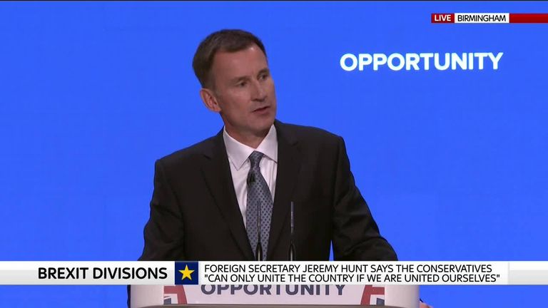 Jeremy Hunt speech