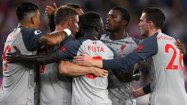 Match updates as LFC return to Premier League action