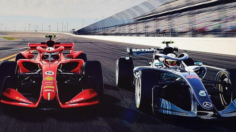 F1 reveals 2021 car concepts | Video | Watch TV Show | Sky ...