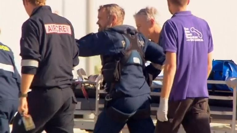 A 12-year-old girl was bitten on the leg by a shark while swimming at Cid Harbour in Australia's Whitsunday Islands and flown to Mackay Base Hospital