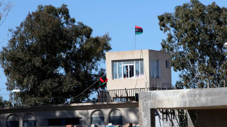 Around 400 inmates have escaped the Ain Zara prison in Libya. File pic