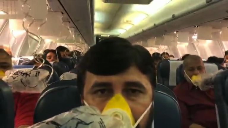 Air pressure fail, allegedly due to human error, caused mass nose and ear bleeding on an Indian flight.