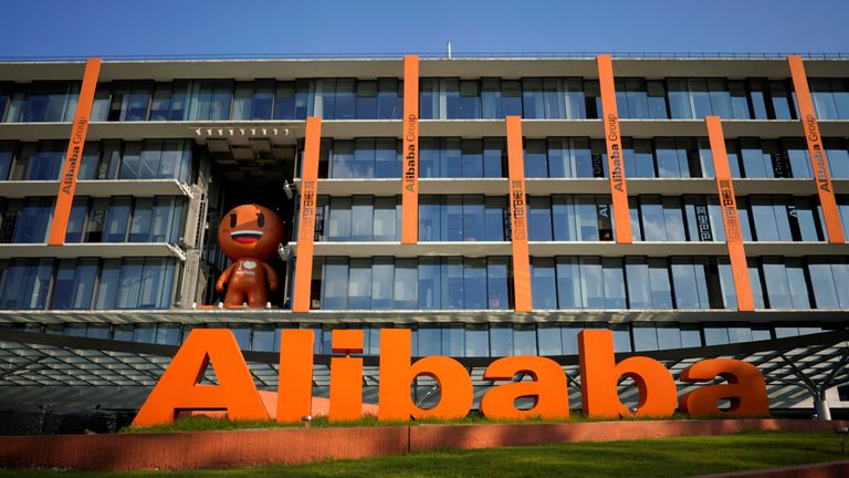 Alibaba is China's equivalent of Facebook and Google