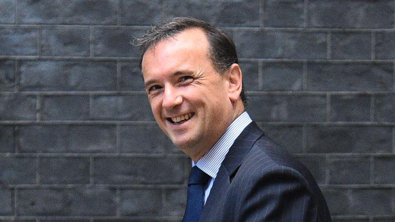 Welsh Secretary Alun Cairns, arrives in Downing Street