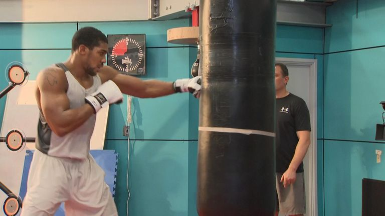 Anthony Joshua interviewed by Jacquie Beltrao