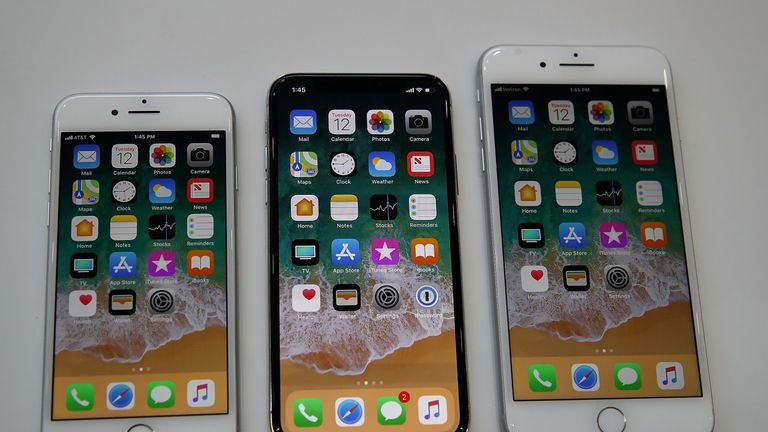 Apple unveiled the new iPhone 8, iPhone 8S and iPhone X at its launch event in California last year