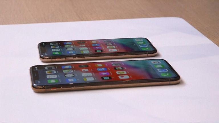 Apple unveil new iPhones