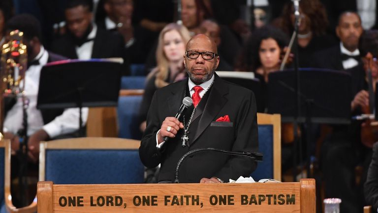 The Rev Williams Jr came under fire for comments about women raising boys to be men