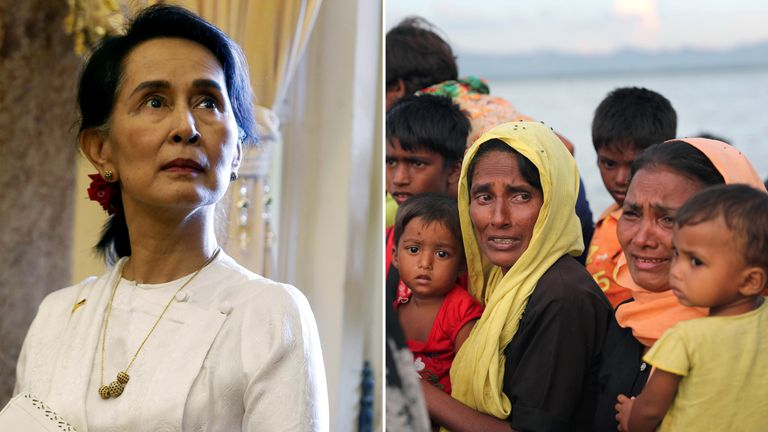 Aung San Suu Kyi admitted Myanmar could have done more with the Rohingya crisis