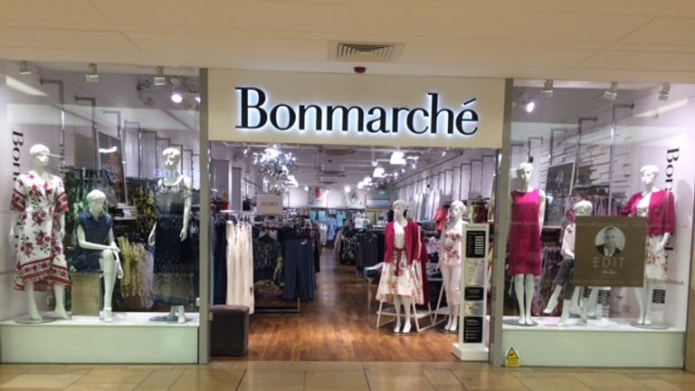 Bonmarche has 325 stores in the UK. Pic: Bonmarche