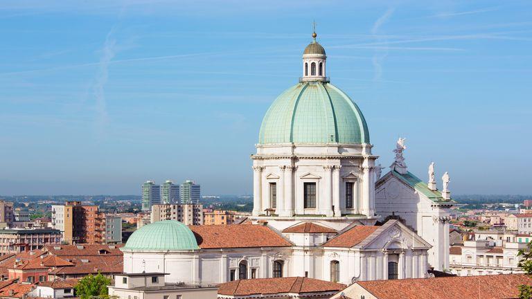 Around 150 cases of pneumonia have been recorded in the Italian city of Brescia