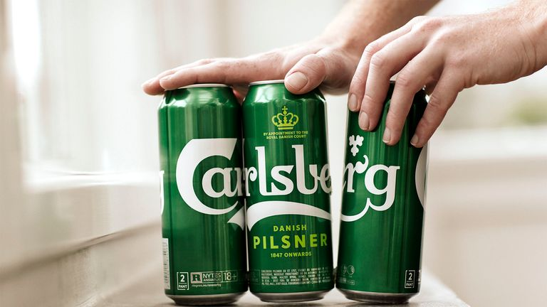 Carlsberg's new Snap Pack