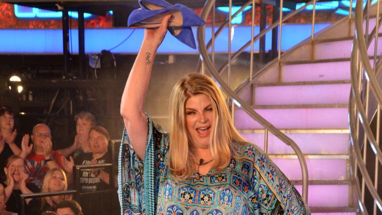 Kirstie Alley was this year's Celebrity Big Brother runner-up.