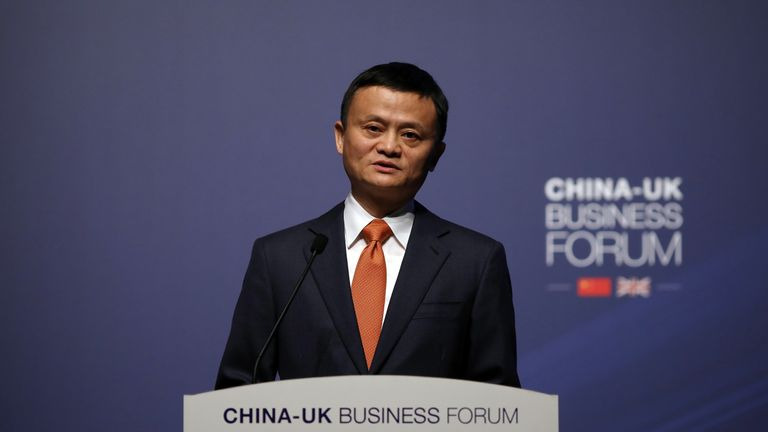 Jack Ma will retire from Alibaba on Monday and look forward to his roles as a philanthropist