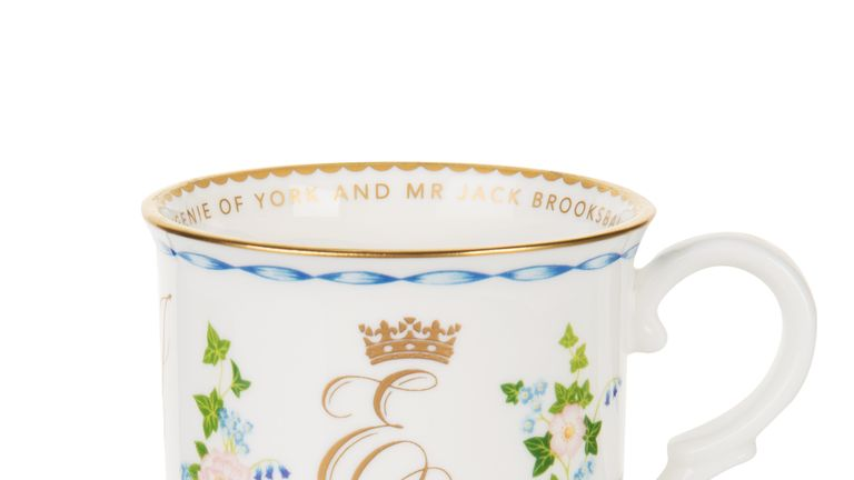 A china tankard comes in at £39.00. Pic:  Royal Collection Trust/ Her Majesty Queen Elizabeth II 2018