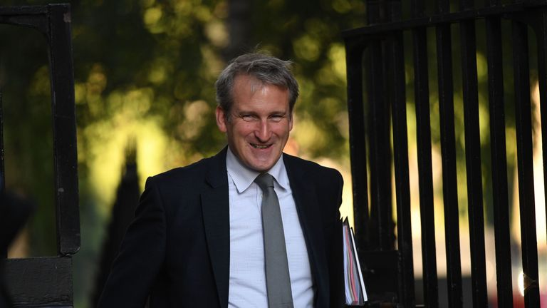 Education Secretary Damian Hinds arrives in Downing Street