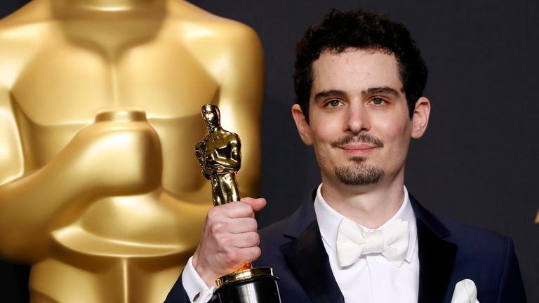 Damien Chazelle won best director at the 2017 Oscars