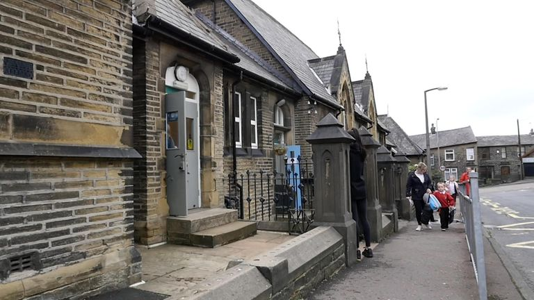 Tuel Lane Infant's School in Sowerby Bridge, Yorkshire