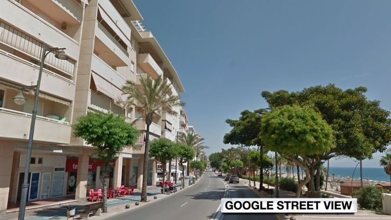 A British man was killed in a police incident in Malaga