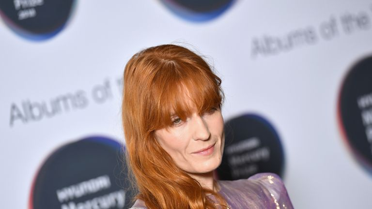 Florence Welch of Florence + The Machine was in attendance