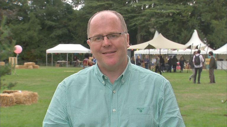The festival was set up by MP George Freeman