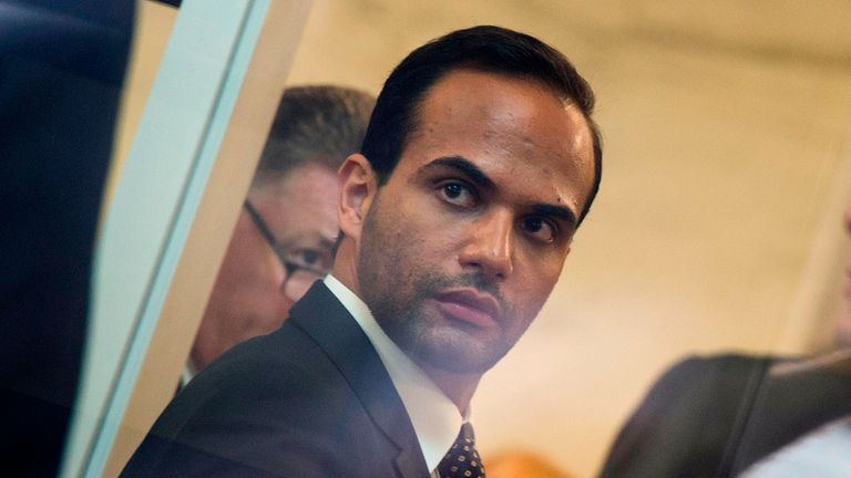 George Papadopoulos was jailed for 14 days
