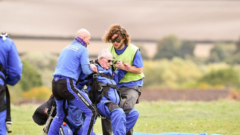 Harry plans to do another skydive to mark the 75th anniversary of D-Day