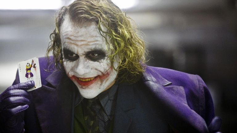 Heath Ledger is the last actor to have played the infamous Joker